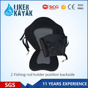 Kayak EVA Seat with Fishing Rod Holders Back Bag pictures & photos