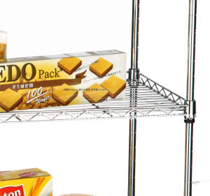 """Quality Approval Adjustable Wire Shelf 6 Tier 500lbs Heavy Duty Wire Shelving 17.72""""X47.25""""Xh71"""" Wire Rack pictures & photos"""