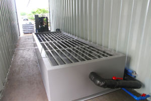 New Technology 5 Tons Containerized Ice Block Maker with Cold Room for Tropical Area pictures & photos