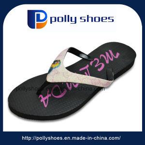 2017 Print Women Beach Sandal EVA Stock Flip Flops pictures & photos