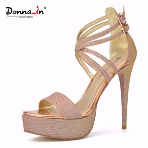 Lady Casual High Heels Platform Women Stiletto Wedding Dress Shoes pictures & photos