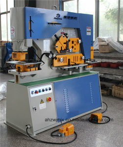 Q35y-12 Hydraulic Combined Punching and Shearing Machine for Metal pictures & photos