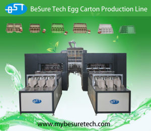 Egg Tray Making Box Egg Carton Machine (EC9600) pictures & photos