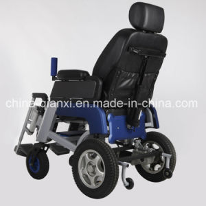 2017 New Light Alloy Lithium Electric Wheelchair pictures & photos