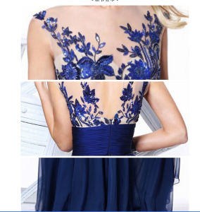 2017 Lace Bridesmaid Prom Evening Dresses La001 pictures & photos