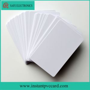 High Quality 0.45mmthickness Blank Inkjet Plastic PVC Card pictures & photos
