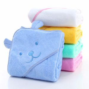 Custom Emboidered Cotton Animal Hooded Baby Towel