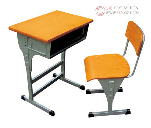 Classic Height Adjustable Student Desk pictures & photos