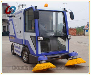 Railway Station Road Sweeping Sweeper Machine pictures & photos