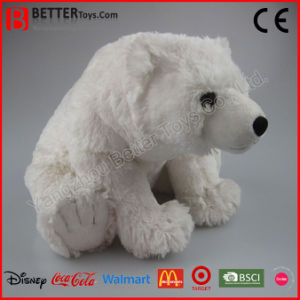 Realistic Stuffed Plush Toy Animal Polar Bear pictures & photos