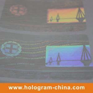 Transparent Drivers License Hologram Sticker pictures & photos
