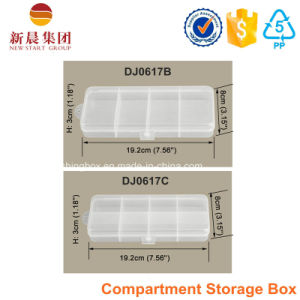 4 Compartment Clear Plastic Box pictures & photos