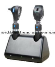 Rechargeable Ophthalmoscope and Otoscope Diagnosis Set pictures & photos
