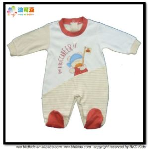 0-24m Baby Garment Combed Cotton Baby Grow pictures & photos