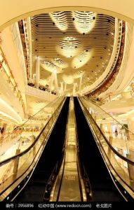 Escalator Arranged in Parallel pictures & photos