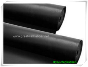 EPDM Rubber Sheet, EPDM Rubber Mat Rolls with Reach, ISO9001 Certificates pictures & photos