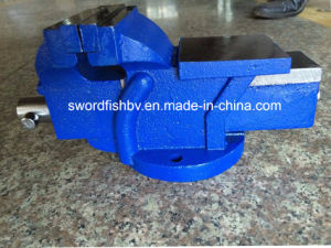 Swordfish Vice Super Heavy Duty Bench Vise Swivel with Anvil pictures & photos