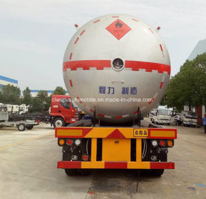 35 Cbm M3 Liquefied Gas Tanker ASME 35000L LPG Tank Truck pictures & photos