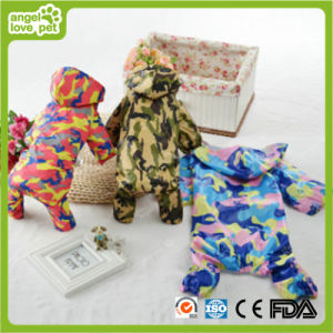 Fan Color Pet Rain Coat Pet Clothes pictures & photos