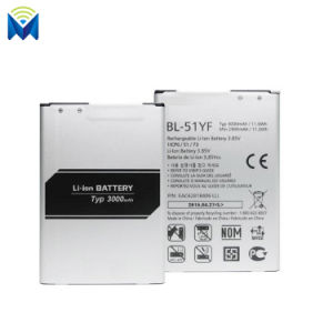New 3000mAh Bl-51yf Battery for LG G4 H810 H811 H815 F500 Vs986 Vs999 Us991 Ls991 Stylo Ls77 pictures & photos