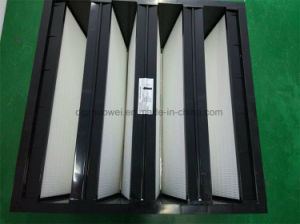 Fv V-Bank Mini-Pleat Medium Filter F6-F9 pictures & photos