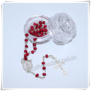 Religious Plastic Packing Box, Rose Plastic Box, Catholic Box, Rosary Box (IO-p023) pictures & photos