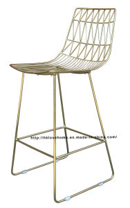 Modern Classic Metal Dining Side Wire Bar Chairs pictures & photos