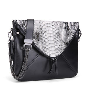 Snake Faux Leather Bags Wholesale Women′s Fashion Bag