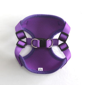Soft Mesh Dog Harnesses Pet Walking Puppy Padded Harness Adjustable (HY113) pictures & photos