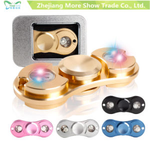 EDC Metal Fidget Spinner Hand Spinning Tops Anti Stress Finger Toys for Autism and Adhd pictures & photos