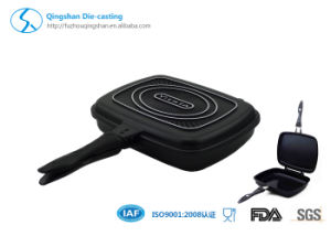 Hot Sale Die Casting Double Fry Pan pictures & photos