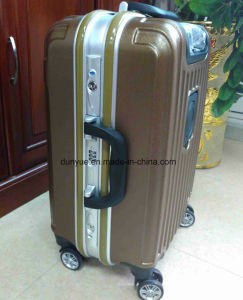 """Low MOQ 20"""", 24"""", 28"""" Aluminum Frame High Quality Trolley Case, Custom Make PC Material Travel Luggage Bag/Suitcase with Wheels pictures & photos"""