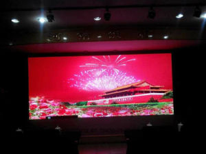 Indoor Full Color Flexible Size Rental LED Display Screen P3.125 pictures & photos
