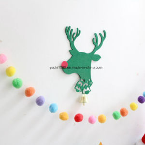 Christmas Felt Tree and Deer Decoration pictures & photos