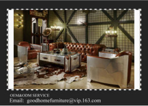 High Density Foam New Model Royal Luxury Sofa Sets pictures & photos