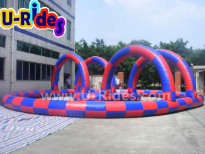 Portable Outdoor Inflatable Sport Game Zorb Ball Go Kart Inflatable Race Track pictures & photos