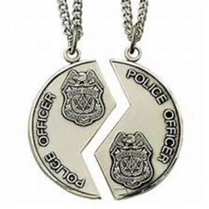 Promotional Silver Enamel Metal Police Medal pictures & photos