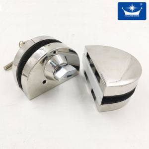 Stainless Steel Round Lock Glass to Glass pictures & photos