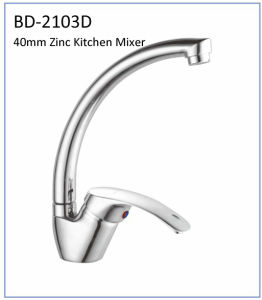 Bd2103b 40mm Zinc Single Lever Kithen Mixer pictures & photos