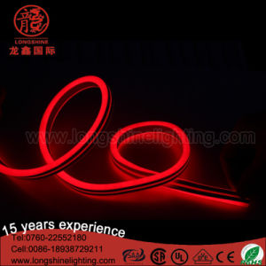 Waterproof LED Cool White Flat Flexible Neon Lights for Building Decoration pictures & photos