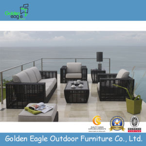 Comfortable Outdoor Synthetic Rattan Sofa (TY0032) pictures & photos