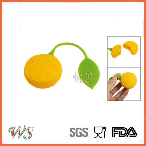 Ws-If048 Food Grade Silicone Lemon Tea Infuser Leaf Strainer for Mug Cup, Tea Pot pictures & photos