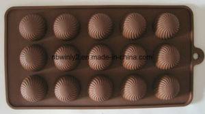 15PCS DOT Chocolate Silicone Mould pictures & photos