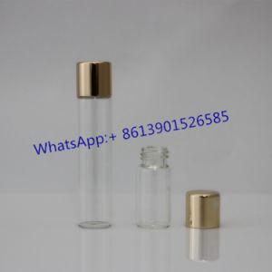 Pen Glass Bottle with Shine Aluminum Caps pictures & photos