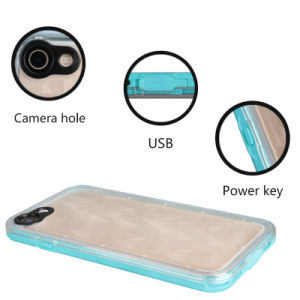 3D Transparent Back Cover Waterproof Phone Case for iPhone 7 4.7inch pictures & photos