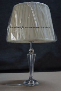 Modern Crystal Table Lamp with Fabric Shade (KATL1526) pictures & photos