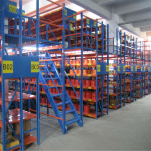 Sanlian Customized Prefabricated Mezzanine Racking pictures & photos