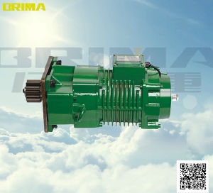 0.75kw Electric Crane Geared Motor with Buffer for End Carriage (BM-100) pictures & photos