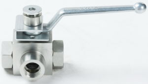 High Pressure Ball Valve with Locking Device pictures & photos