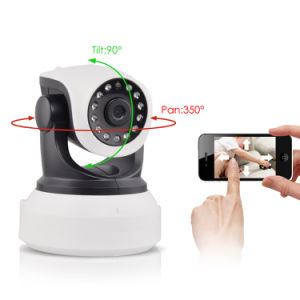 Wireless 720p Pan Tilt Network Security CCTV Night Vision IP Camer WiFi Webcam pictures & photos